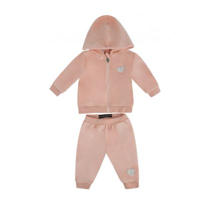 Kids Orange 3 Piece Tracksuit Gift Set