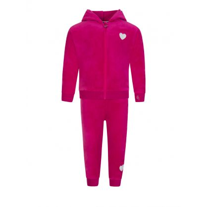 Kids Pink 3 Piece Tracksuit Gift Set