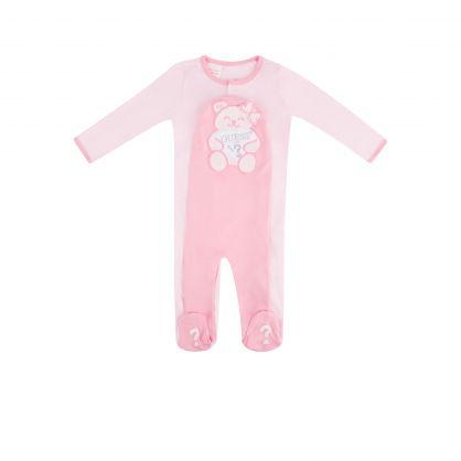 Kids Pink Cotton Babygrow Gift Set