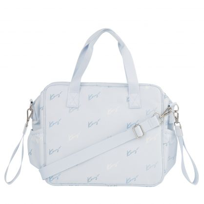 Blue Logo Canvas Changing Bag