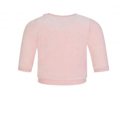 Pink 2-Piece Cotton Tracksuit