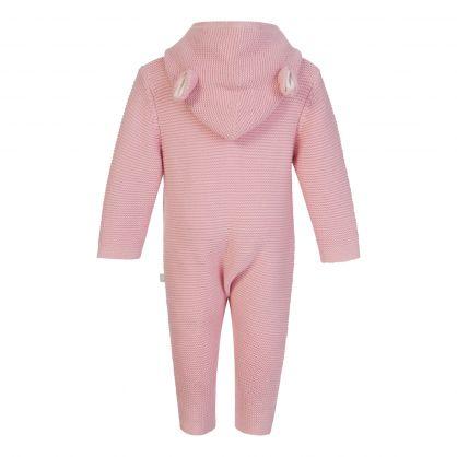 Pink Doggie Knit Jumpsuit