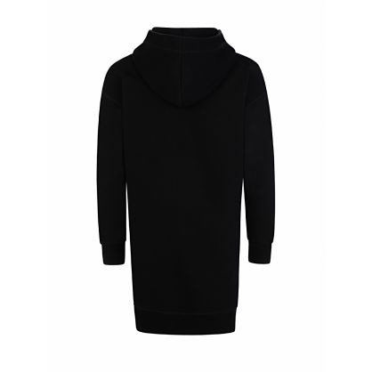 Kids Black ICON Hoodie Dress