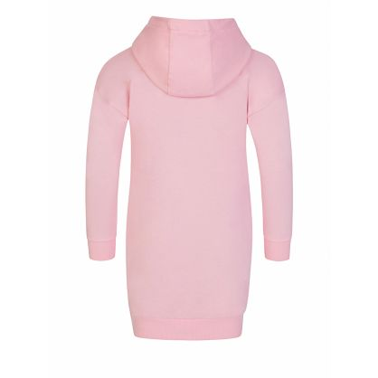 Pink 'Disco Jungle' Elephant Hoodie Dress