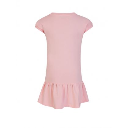 Kids Pink Daisy Bear Dress