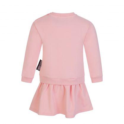 Kids Pink Peek a Boo Bear Baby Dress