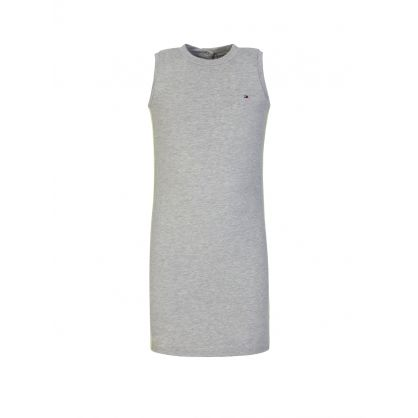 Kids Grey Tape Logo Sports Dress