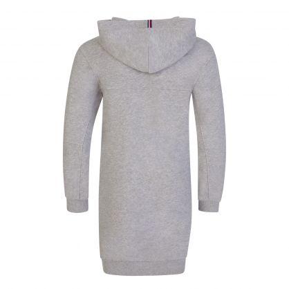 Kids Grey Essential Hoodie Dress