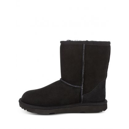 Kids Black Classic II Boots