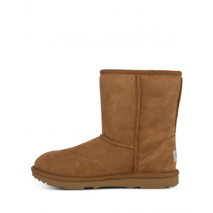 Kids Brown Classic II Boots