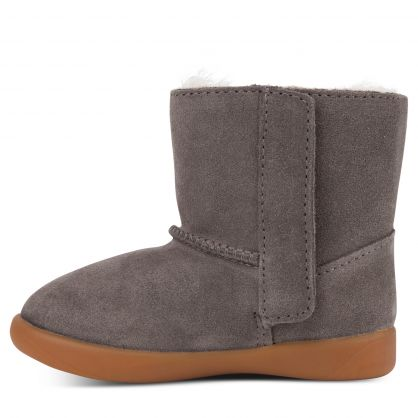 Kids Charcoal Keelan Ankle Boots