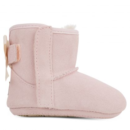 Kids Pink Jesse Bow II & Beanie Gift Set