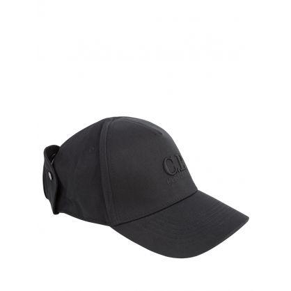 Black Goggles Cap