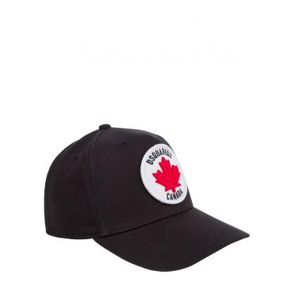 Kids Black Canada Cap