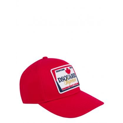 Kids Red Superior Logo Cap