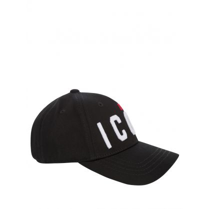 Kids Black DSQ2 ICON Cap