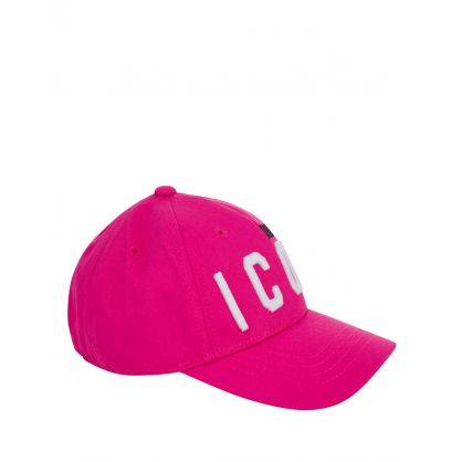 Kids Pink DSQ2 ICON Cap