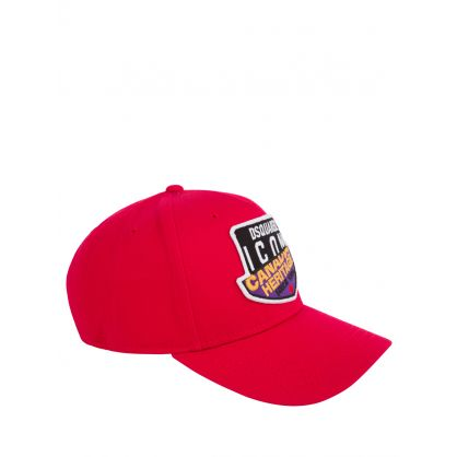 Kids Red Canadian ICON Heritage Cap