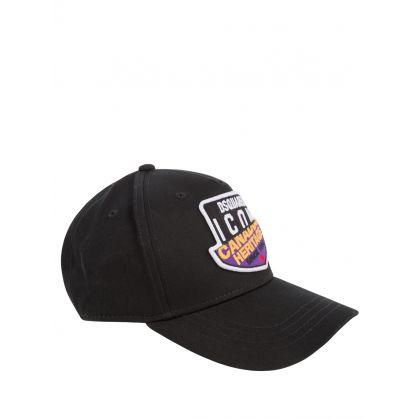Kids Black Canadian ICON Heritage Cap