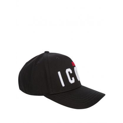 Kids Black/White DSQ2 ICON Cap