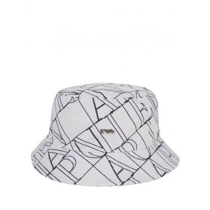 Junior Off White Logo Bucket Hat