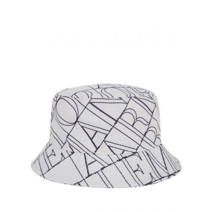 Junior Off White Logo Bucket Hat