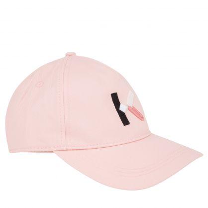 Pink 'K' Logo Cap