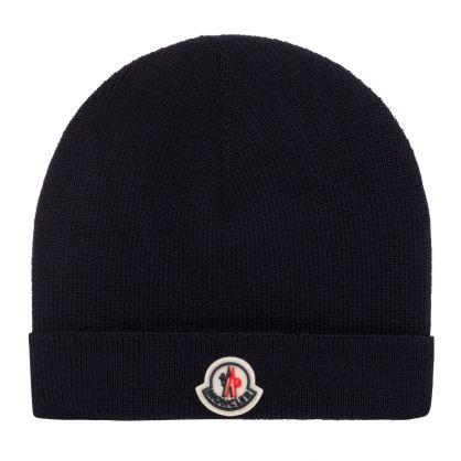 Dark Blue Logo Beanie Hat