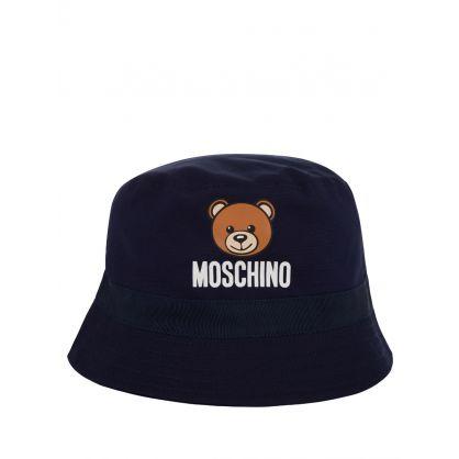 Kids Navy Baby Bucket Hat