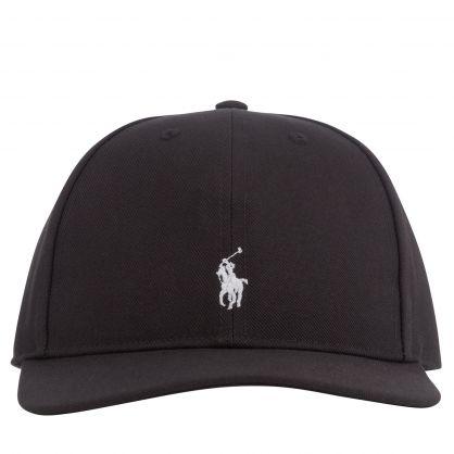 Kids Black Highcrown Cap