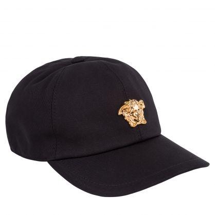 Black Junior Medusa Baseball Cap