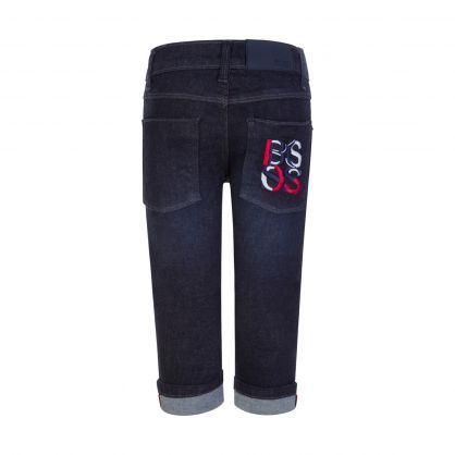 Blue Rinsed Baby Jeans