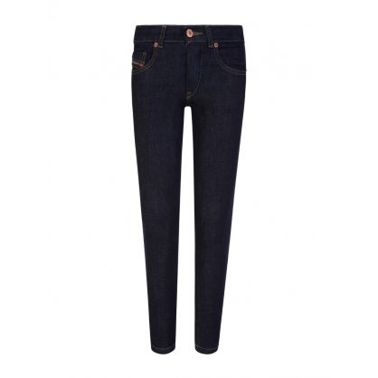 Blue Denim D-Strukt Jeans