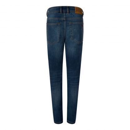 Kids Blue Carrot-Fit D-Vider Jeans