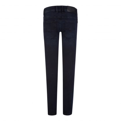 Kids Dark Blue Skinny-Fit Sleenker-J-N Jeans