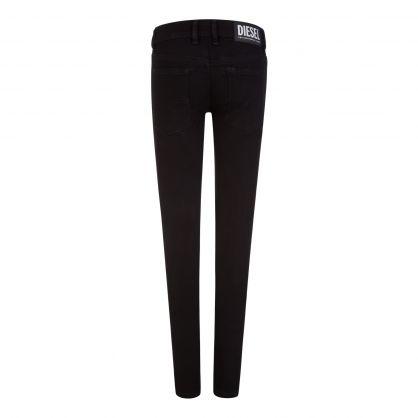 Kids Black Skinny-Fit Sleenker-J-N Jeans