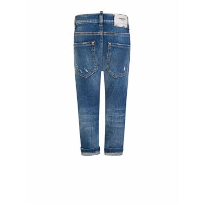 Kids Blue Denim Jeans