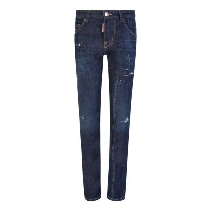 Kids Dark Blue Denim Cool Guy Jeans