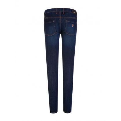 Kids Navy Skinny Stretch Jeans