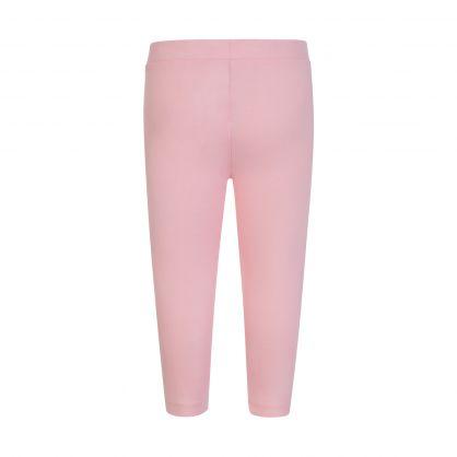 Kids Pink Logo Baby Leggings