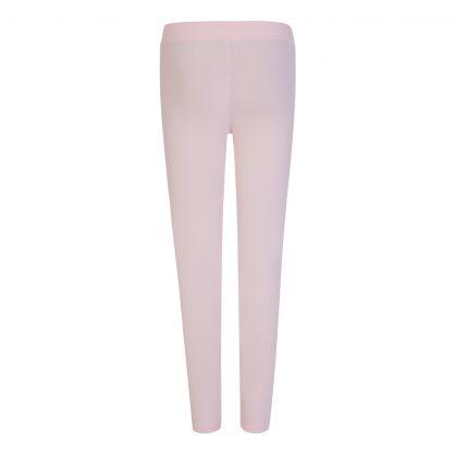 Kids Pink Logo Leggings