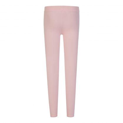 Kids Pink Essential Logo Leggings