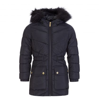 Black Tampere Quilted Jacket