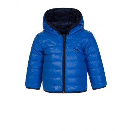Blue/Navy Reversible Down Jacket