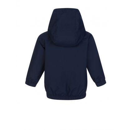 Navy Hooded Baby Jacket