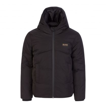 Black Gold Capsule Puffer Jacket