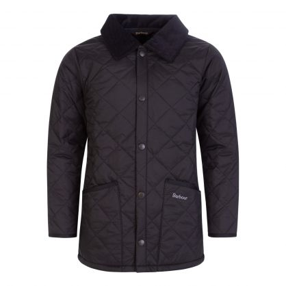 Black Liddesdale® Quilted Jacket