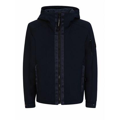 Navy Lens Hood Jacket