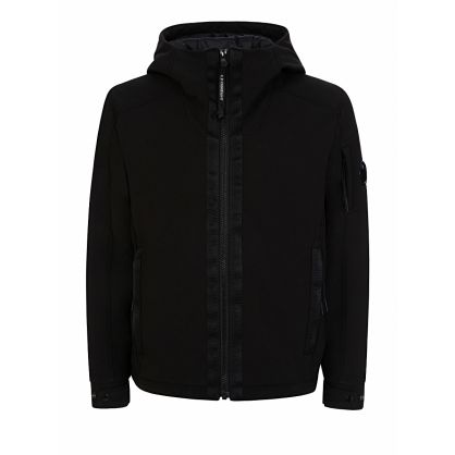 Black Lens Hooded Jacket
