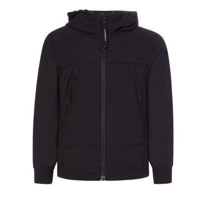 Black Shell-R Goggle Jacket